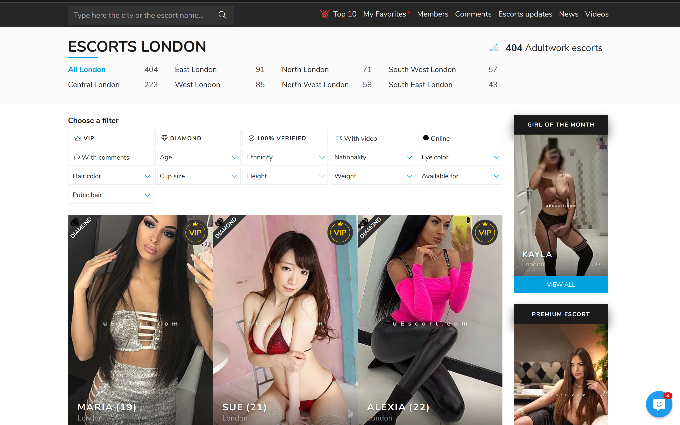 Here is how to add visibility to your escort ad